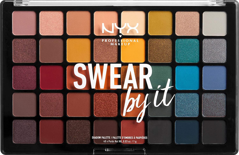 Paleta de sombra de ojos Swear By It NYX Professional Makeup