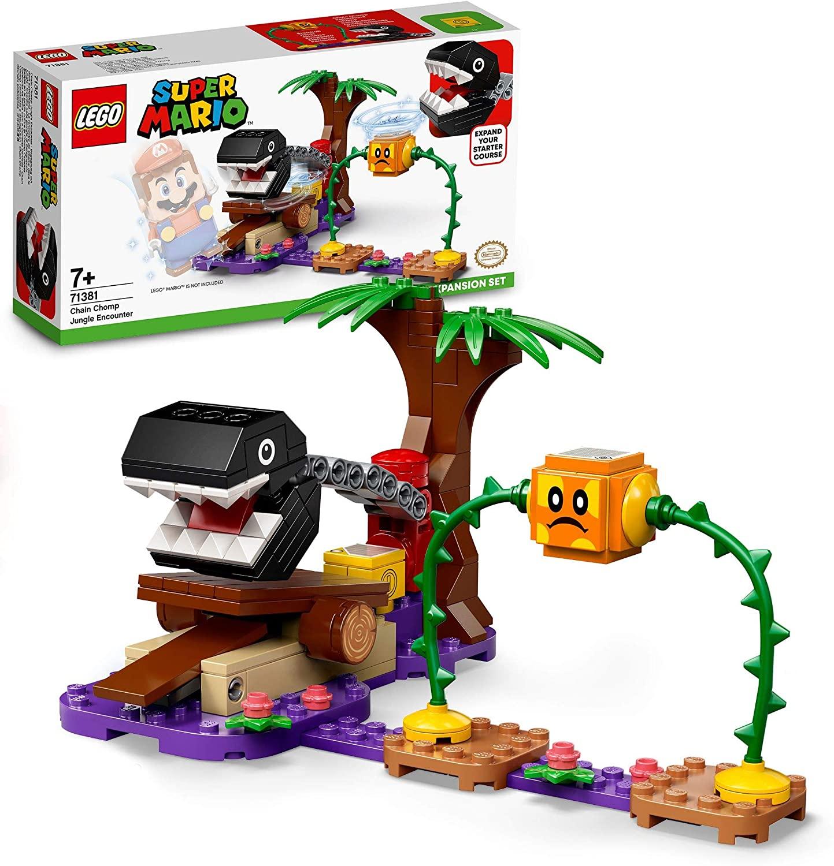 Set de Expansión Lego Batalla en la jungla contra el Chomp Cadenas