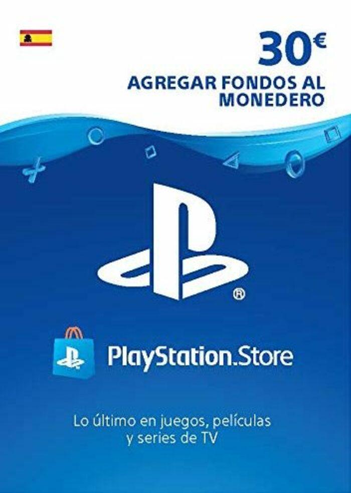 Tarjeta Prepago 30€ PlayStation Network