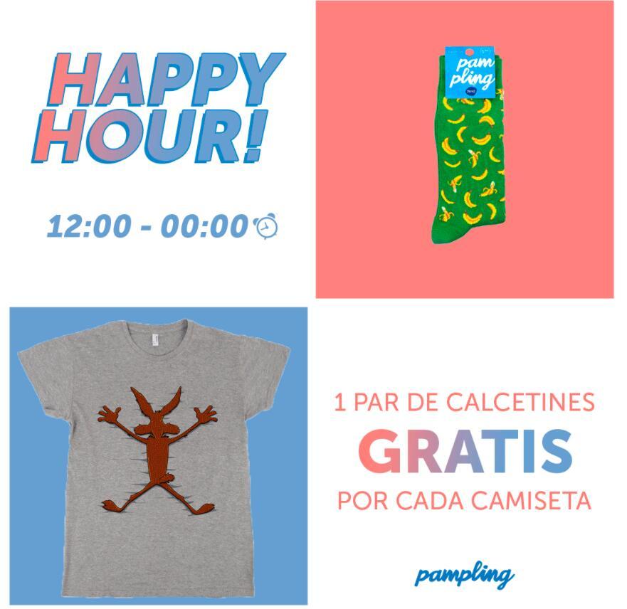 Camiseta Friki + calcetines de regalo