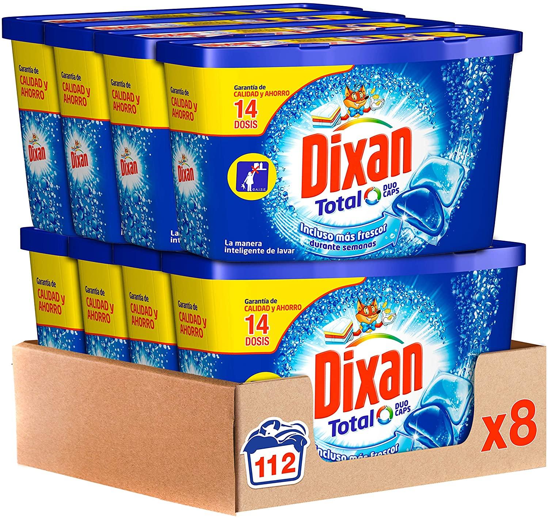112 Lavados Dixan Detergente en Cápsulas
