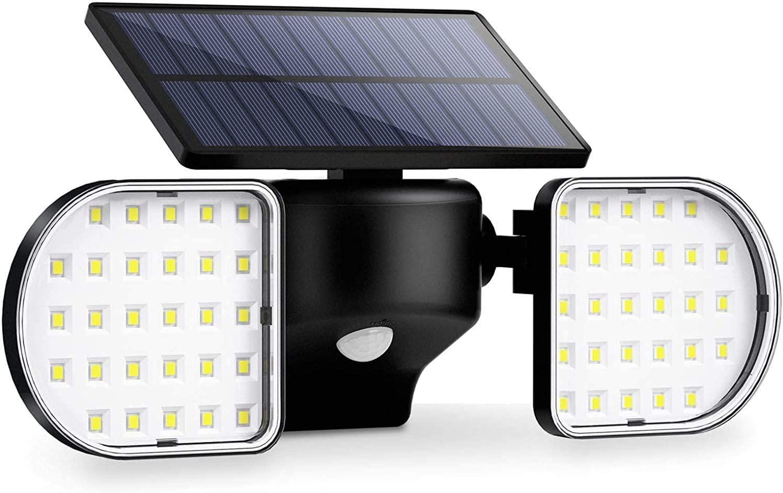 Foco Solar Exterior 56 LEDs IP65