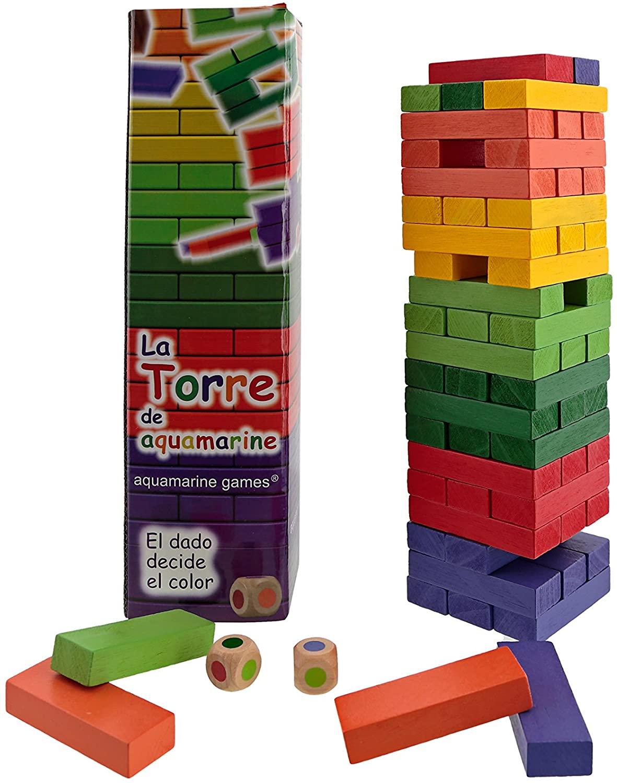 La Torre de colores de aquamarine