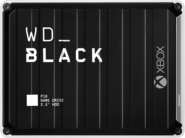Disco HDD Portátil para Xbox WD BLACK P10 de 5 TB