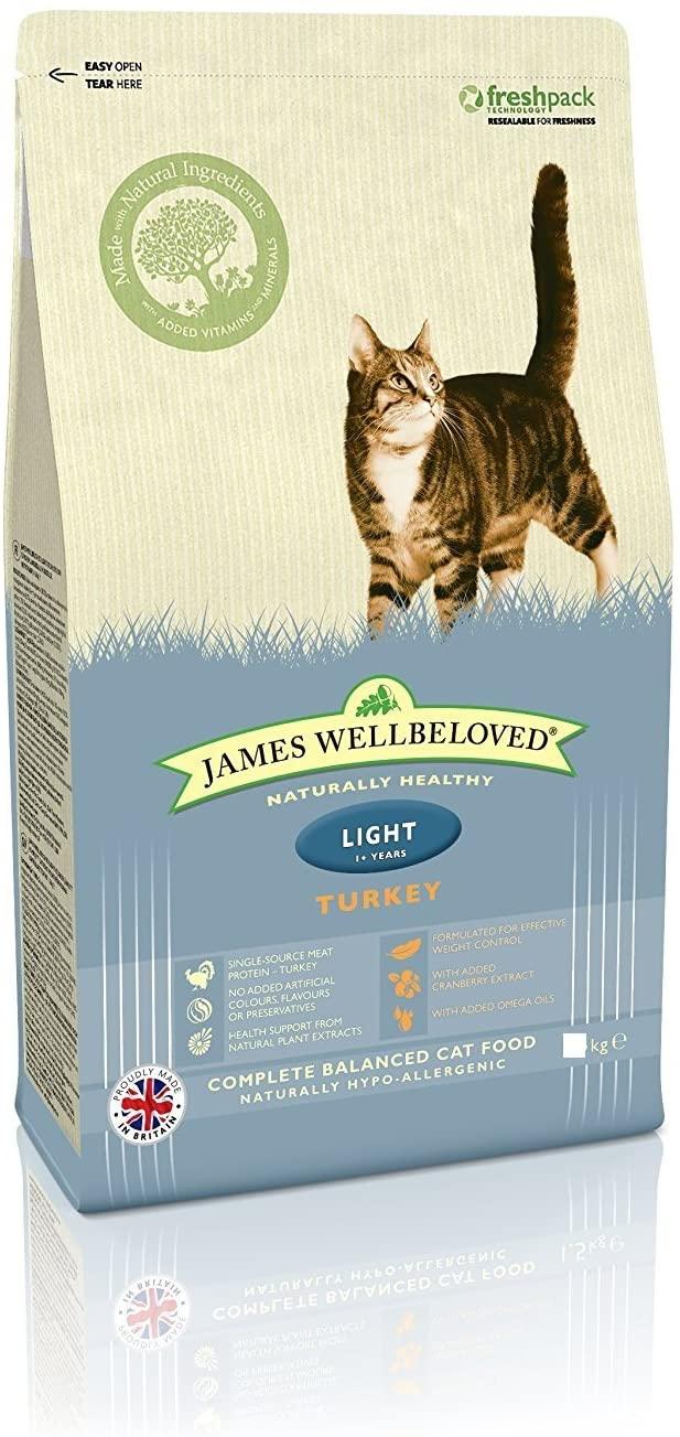 4 Kg Alimento seco para gatos adultos James Wellbeloved