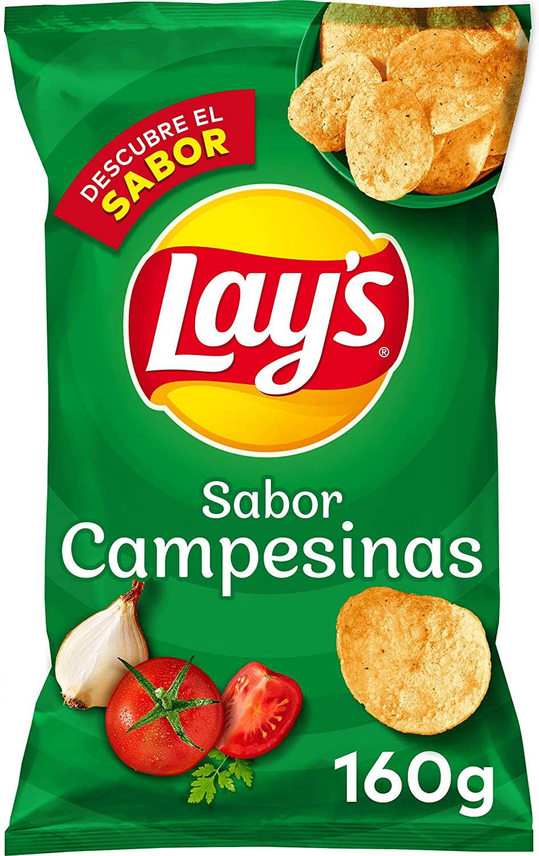 250g Lay's Patatas Fritas Sabor Campesinas