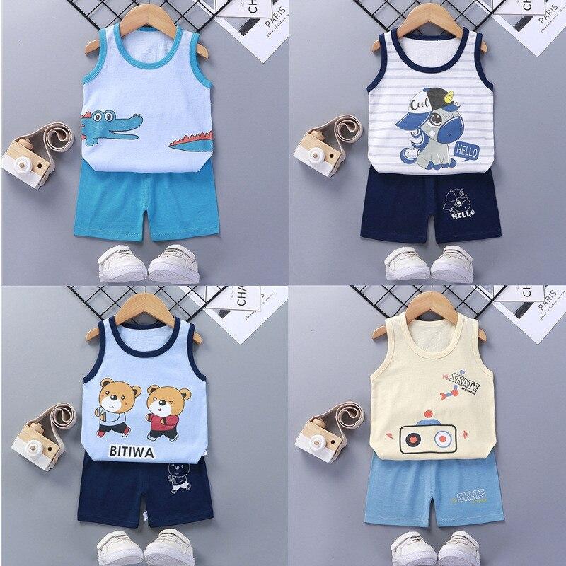 Conjuntos de ropa de verano para niños y niñas
