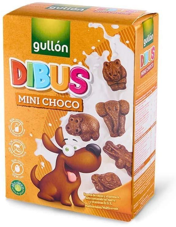 250g Gullón Galletas Chocolate Dibus Mini