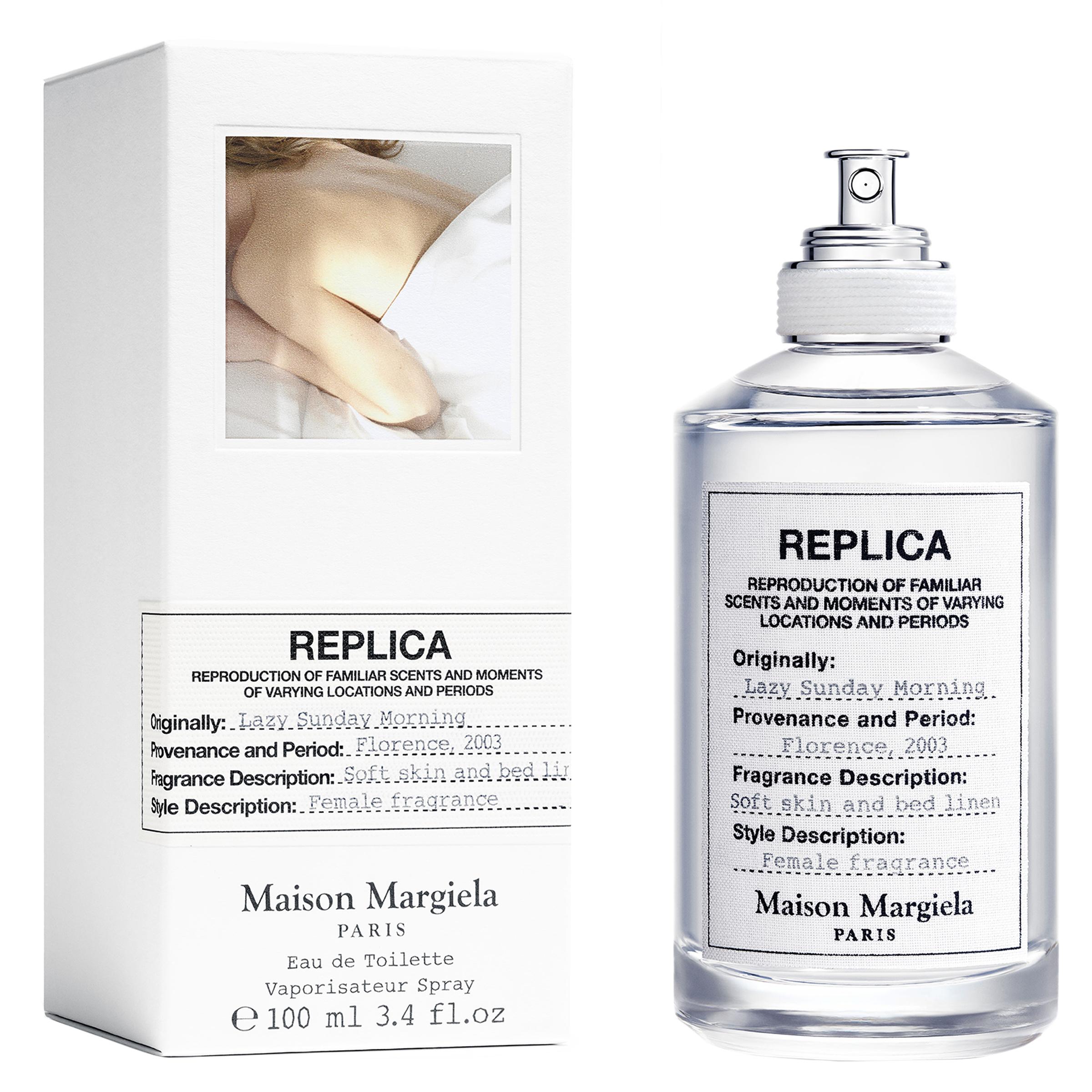 Muestra perfume Replica Lazy Sunday Morning de Maison Margiela