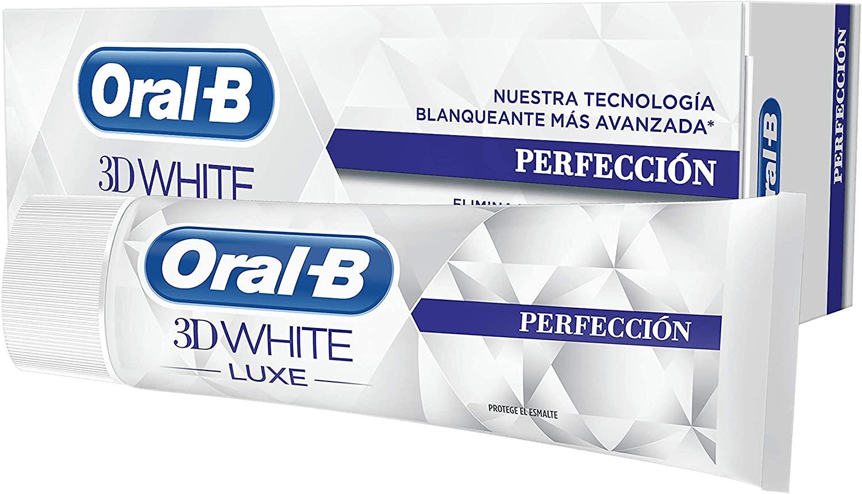 75ml Pasta Dentífrica Blanqueadora Oral-B 3DWhite Luxe Perfección