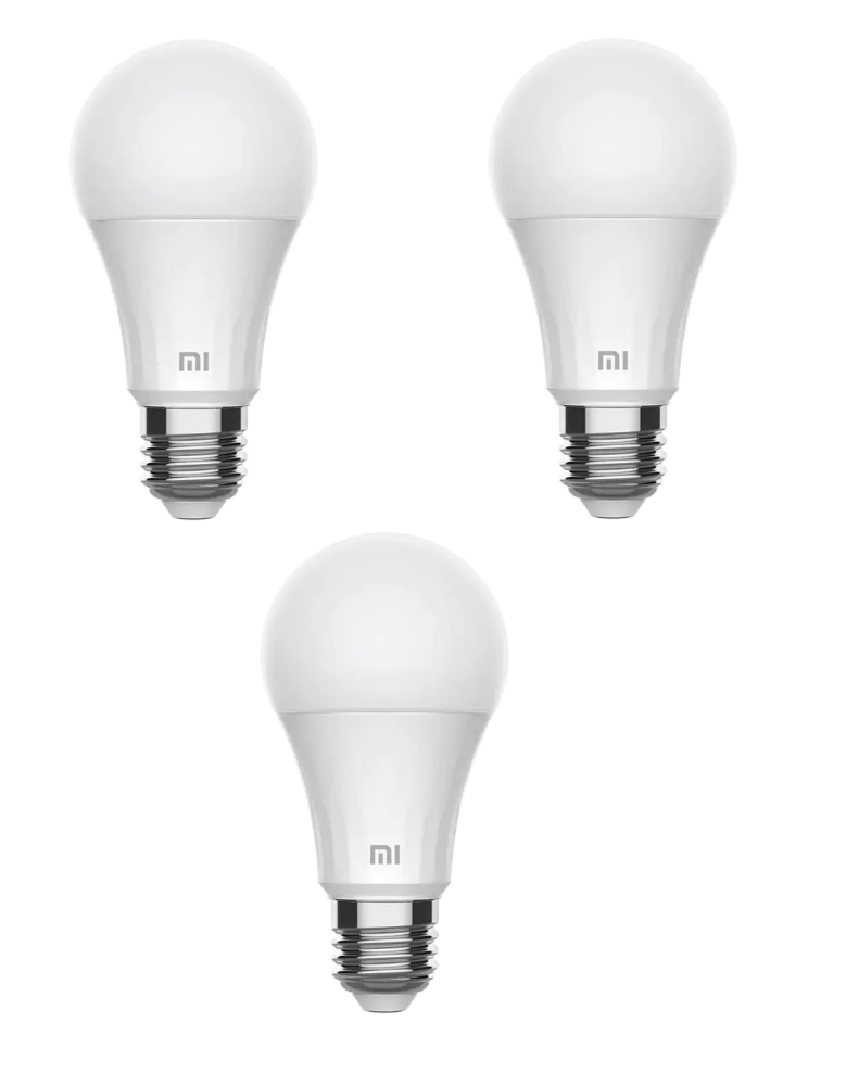 3X Bombilla LED Xiaomi Yeelight