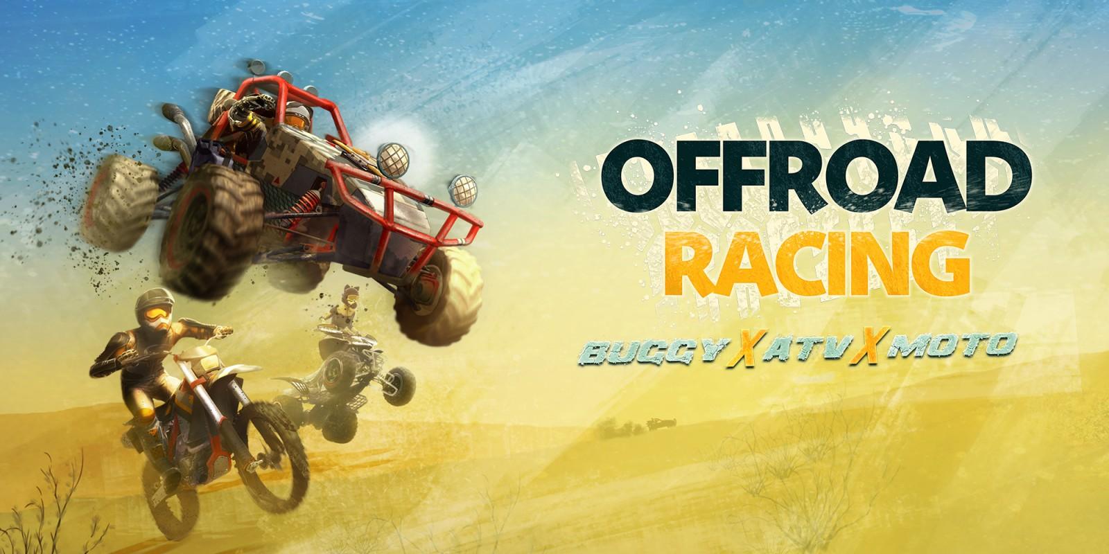 Offroad Racing Buggy X ATV X Moto Nintendo Switch