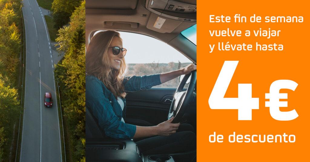 4€ de descuento en carburantes Premium con Waylet