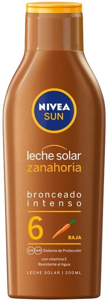 200ml Nivea Sun Leche Solar Zanahoria FP6