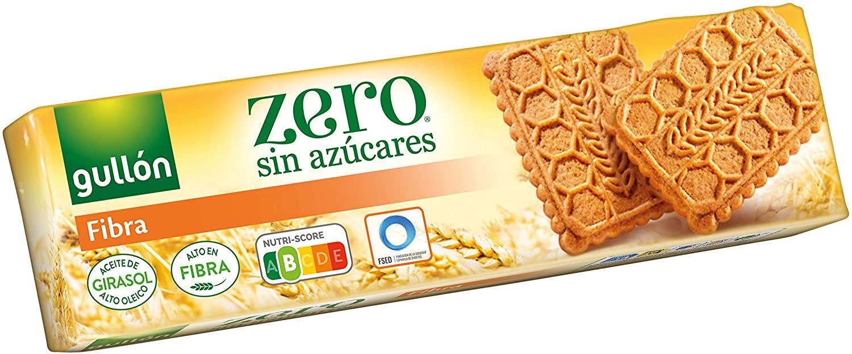 170g Gullón Galleta Fibra ZERO sin Azúcares