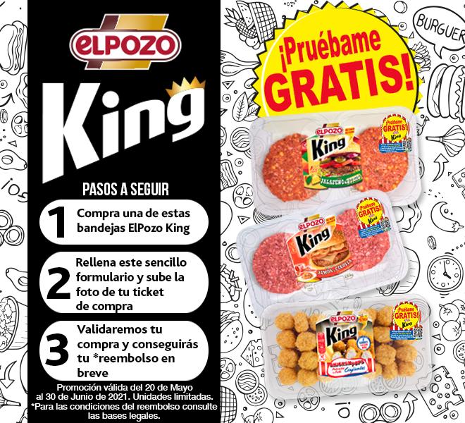 Prueba las novedades de ElPozo King