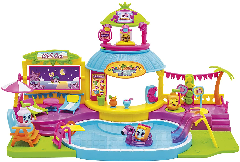 Pool Party con 2 exclusivas figuras MojiPops y variedad de accesorios