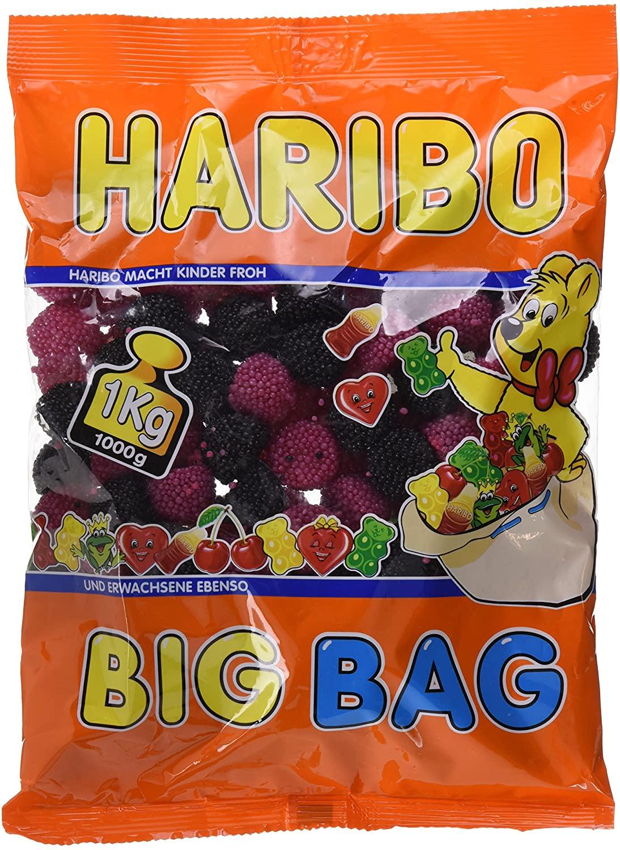 1 kg Caramelo de goma Haribo Berries