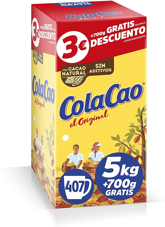 5,7kg ColaCao Original con Cacao Natural
