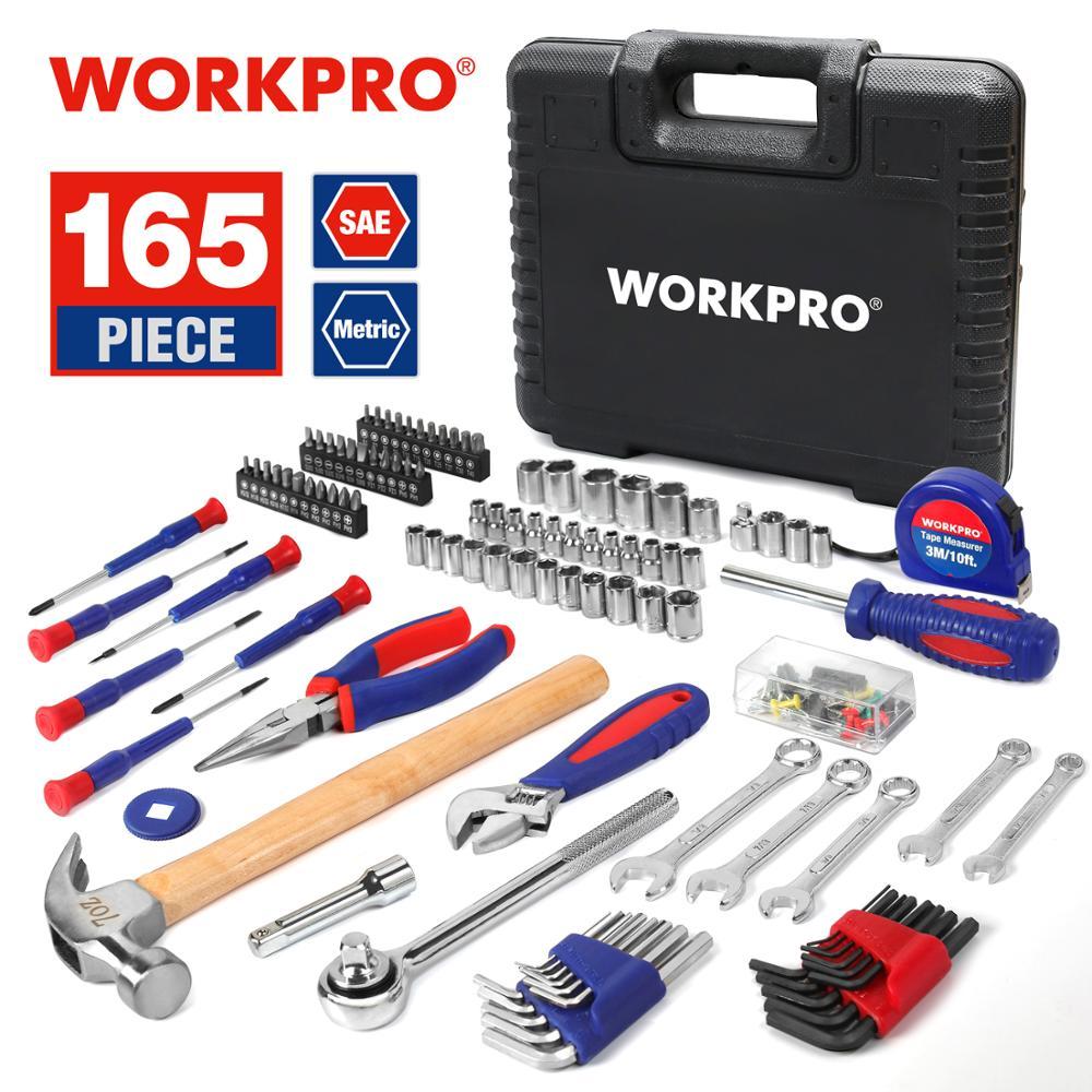 Juego de 165 herramientas Workpro