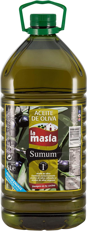 5 Litros de Aceite de Oliva Intenso La Masia