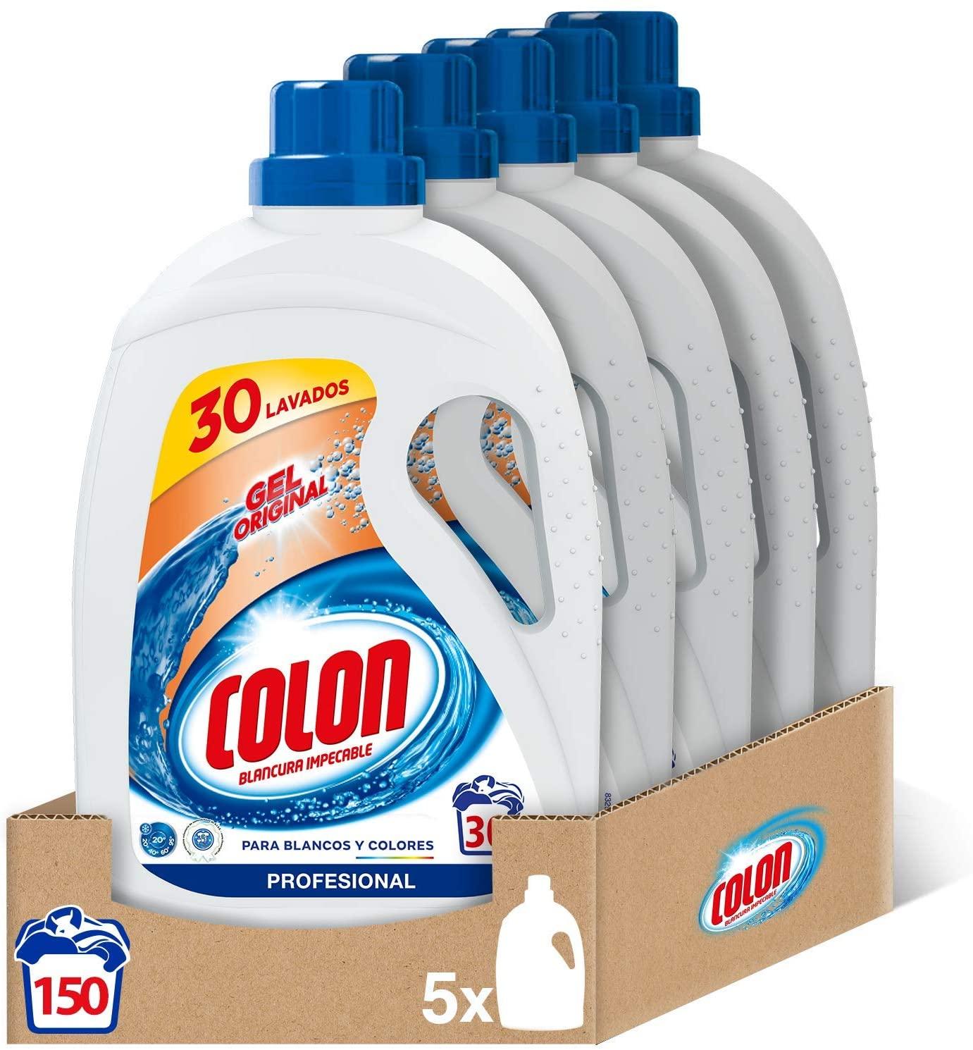 150 Lavados Colon Gel Original