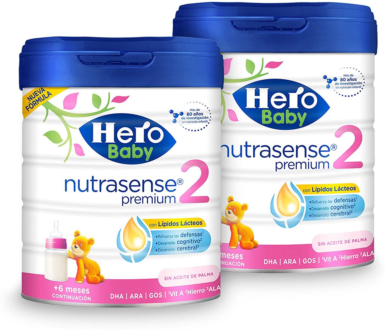 2x800g Hero Baby Nutrasense Premium 2