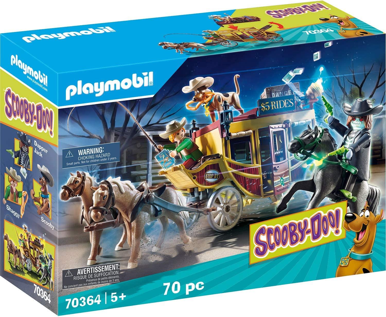 Playmobil Scooby-Doo! Aventura en el Salvaje Oeste