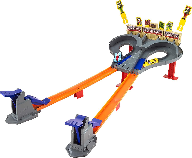 Hot Wheels Pista dúo de carreras