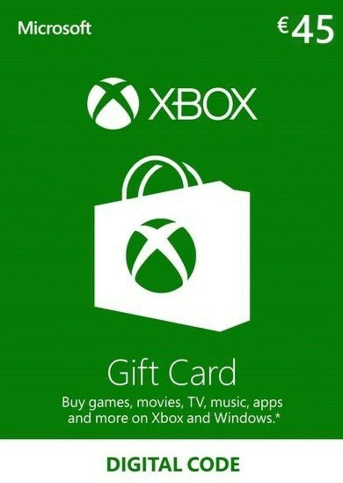 Tarjeta de 45€ de Saldo para Xbox