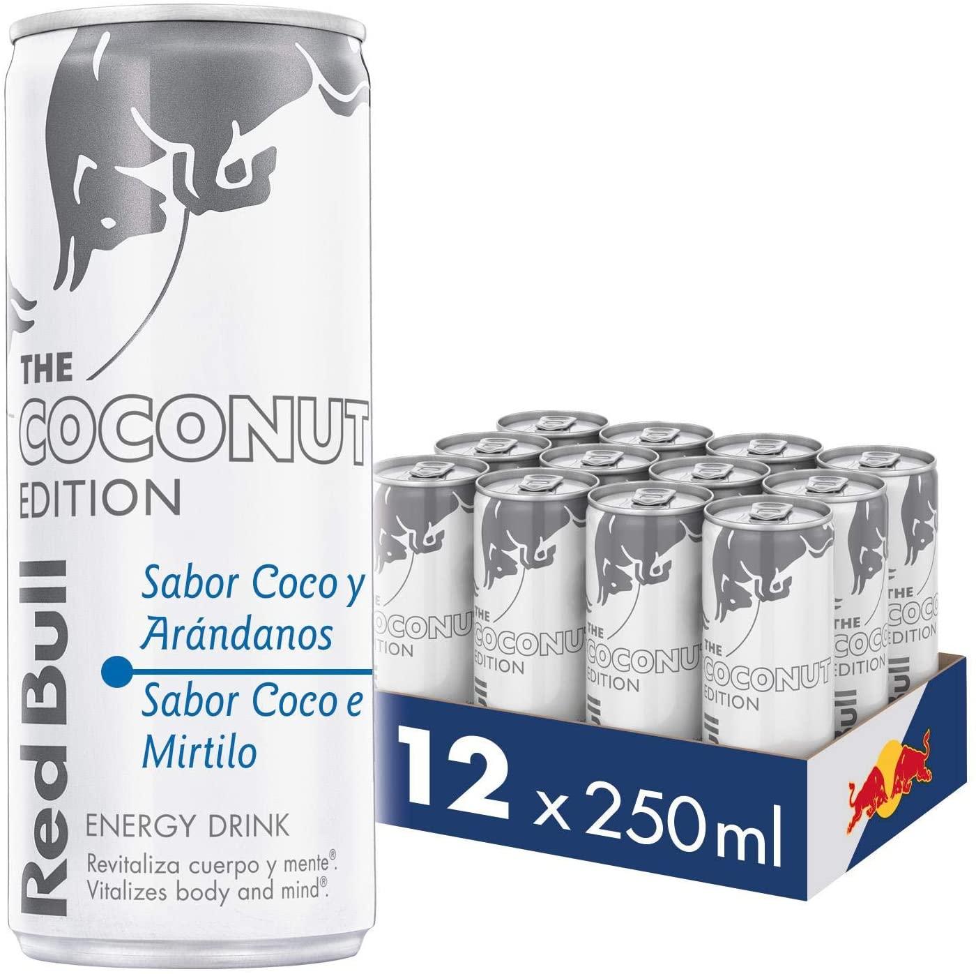 12x250ml Red Bull Coco y Arándanos