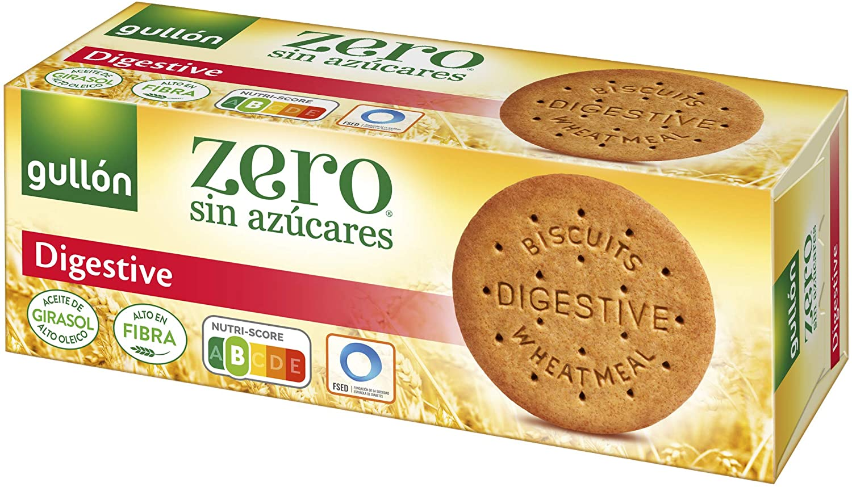 400g Gullón Galleta Zero sin Azúcares Digestive