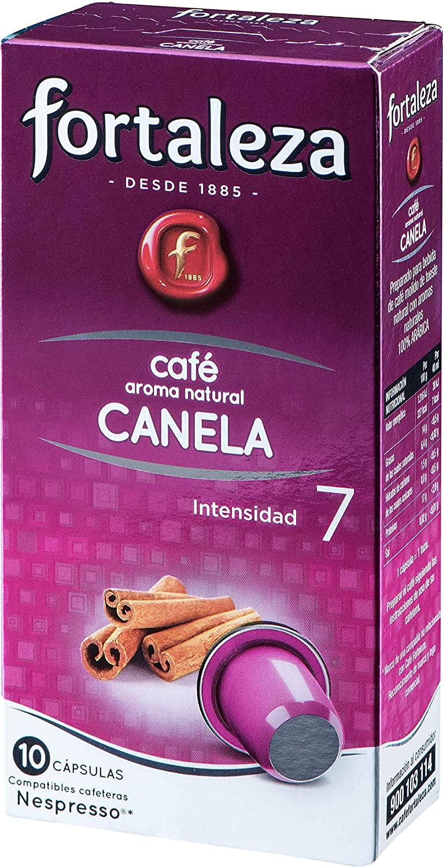 50 Cápsulas Café Fortaleza con aroma a canela