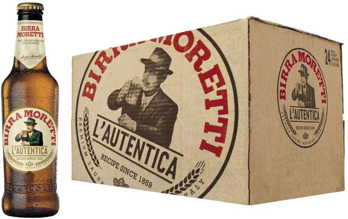 24x33cl Cerveza Lager Italina Birra Moretti
