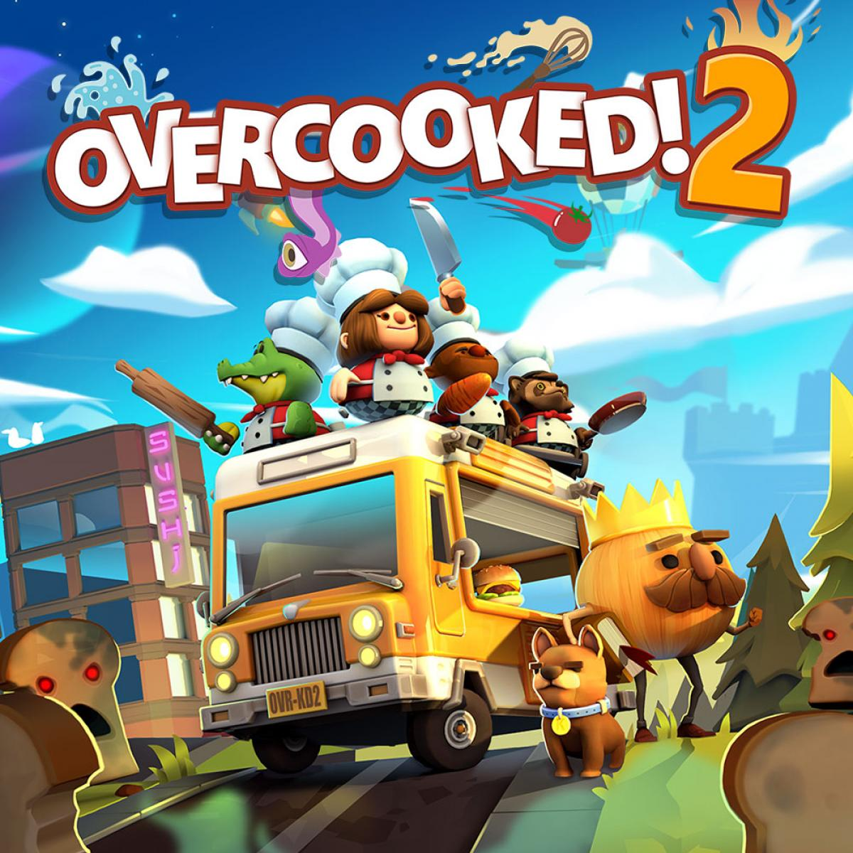 Overcooked! 2 en Epic Games