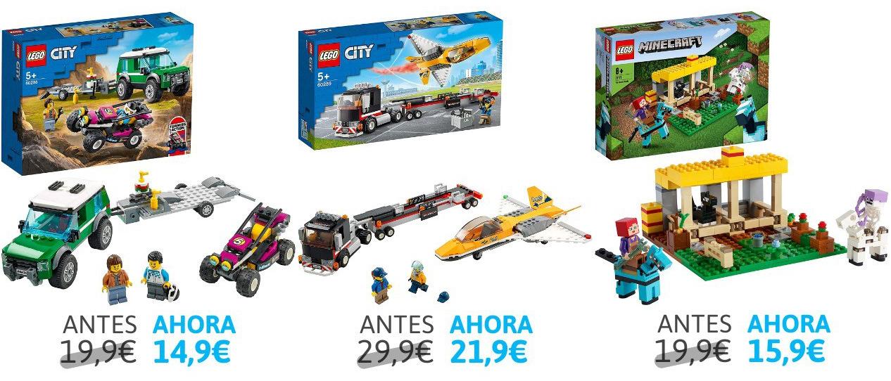 Selección de Legos en Oferta