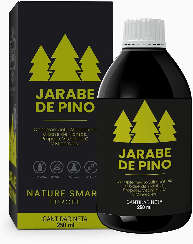 250ml Jarabe de Pino (Alivia los Síntomas de la Tos) 100% Natural