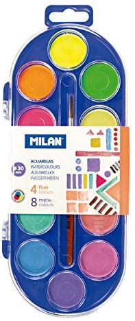 Estuche Acuarelas Milan