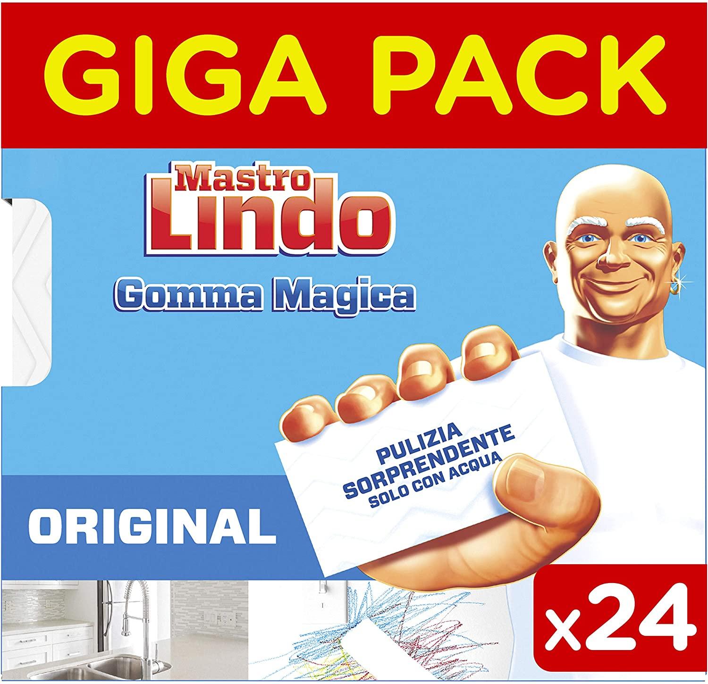 24x Goma mágica Mastro Lindo