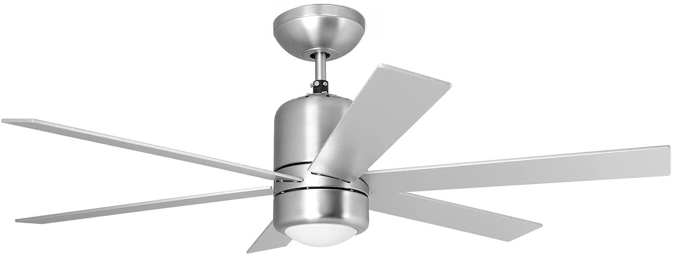Ventilador de techo con luz y mando Orbegozo