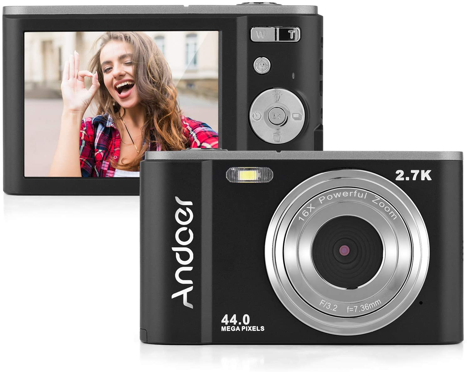 Mini cámara digital 44MP