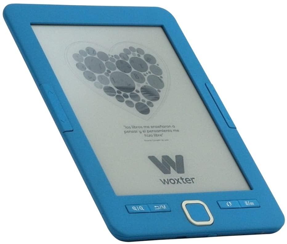 """Lector de Libros electrónicos 6"""" Woxter E-Book Scriba 195 Blue Reacon"""