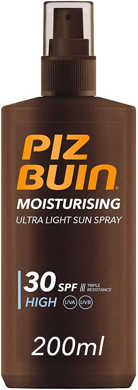 200ml Protector Solar en Spray Piz Buin Moisturising SPF 30