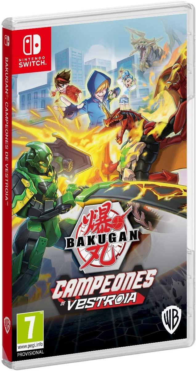 Bakugan: Campeones de Vestroia Nintendo Switch