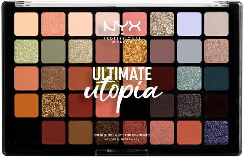 Paleta de sombras de ojos NYX Professional MakeUP Ultimate Utopia 40 tonos