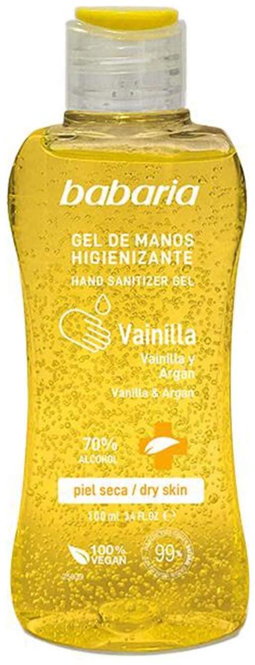 100 ml Babaria Gel de manos hidroalcohólico higienizante vainilla