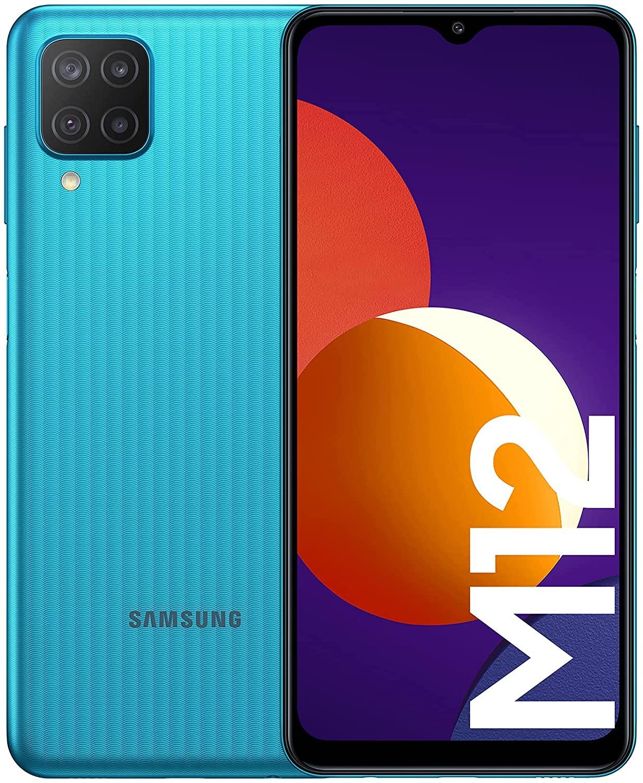 Samsung Galaxy M12 4/64GB solo 122,5€   4/128GB solo 141,5€