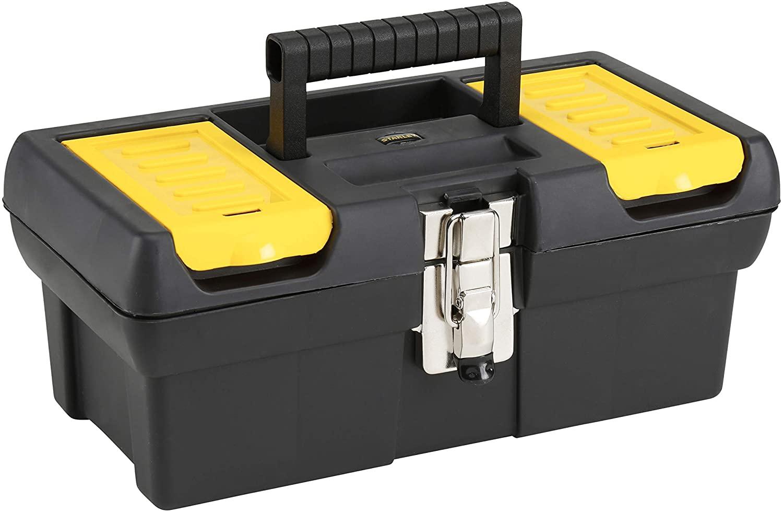 Caja de herramientas Stanley con cierres metálicos 32cm