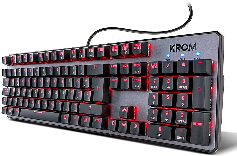 Teclado mecánico gaming KROM Kernel