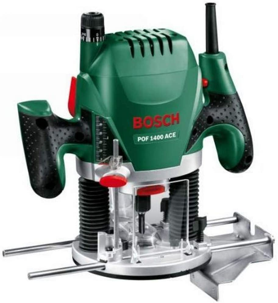Fresadora de Superficie Bosch POF 1400W
